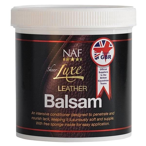 Bilde av NAF Sheer luxe leather balsam 400gr.